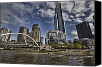 Rowers Canvas Prints - Eureka Tower-View from Cityside Canvas Print by Douglas Barnard