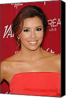Four Women Canvas Prints - Eva Longoria At Arrivals For Varietys Canvas Print by Everett