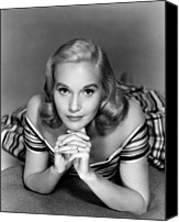 1950s Fashion Canvas Prints - Eva Marie Saint, Ca. 1950s Canvas Print by Everett