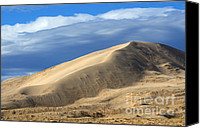 Kelso Canvas Prints - Evening At The Kelso Dunes Canvas Print by Bob Christopher