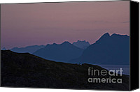 Alpine Canvas Prints - Evening Mood  Canvas Print by Heiko Koehrer-Wagner