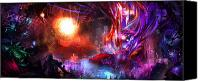 Concept Digital Art Canvas Prints - Event on the Horizon Canvas Print by Alex Ruiz