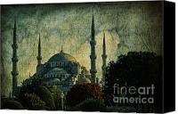 Turkey Photo Canvas Prints - Eventide Canvas Print by Andrew Paranavitana