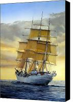 Maritime Canvas Prints - Eventide Canvas Print by Tim Johnson