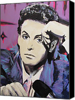 Paul Drawings Canvas Prints - Evolution of Paul McCartney Canvas Print by Eric Dee