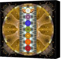 Cosmic Canvas Prints - Evolving Light Canvas Print by Bell And Todd