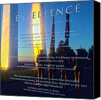 Excellence Canvas Prints - Excellence Canvas Print by Mitch Cat