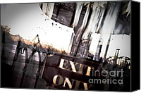 Jazzland Canvas Prints - Exit Only Canvas Print by Pixel Perfect by Michael Moore