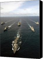 Warship Canvas Prints - Expeditionary Strike Group Two Canvas Print by Stocktrek Images