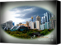 Koala Canvas Prints - Eye On Sydney Canvas Print by Stephen Lawrence Mitchell