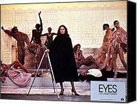 Subject Poster Art Canvas Prints - Eyes Of Laura Mars, Faye Dunaway, 1978 Canvas Print by Everett