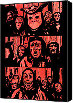 Kubrick Canvas Prints - Eyes Wide Shut 1 Canvas Print by Giuseppe Cristiano