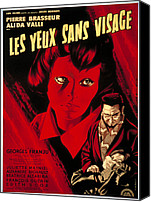 Horror Fantasy Movies Canvas Prints - Eyes Without A Face, Aka Les Yeux Sans Canvas Print by Everett