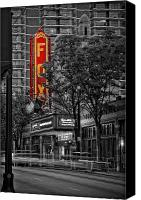 Atlanta Canvas Prints - Fabulous FOX Theater Canvas Print by Doug Sturgess