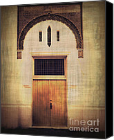 Screen Doors Photo Canvas Prints - Faded Doorway Canvas Print by Perry Webster