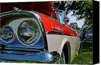 Custom Ford Digital Art Canvas Prints - Fairlane Canvas Print by JT Gardner