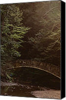 Fantasy Photo Canvas Prints - Fairy Bridge Canvas Print by Maria Suhr