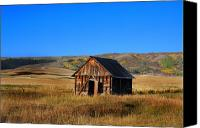 Southern Rocky Mountains Canvas Prints - Fall Barn Canvas Print by Mark Smith