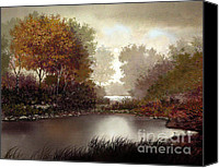 Treescape Canvas Prints - Fall Waters Canvas Print by Robert Foster