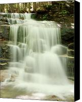 White Mountains Canvas Prints - Falling Waters Canvas Print by Roupen  Baker