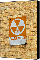 Son Canvas Prints - Fallout Shelter Canvas Print by Nikki Marie Smith