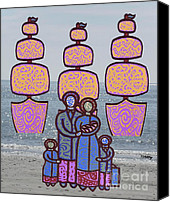 Family Love Canvas Prints - Famine 6 Canvas Print by Patrick J Murphy