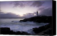 County Donegal Photo Canvas Prints - Fanad Head, County Donegal, Ireland Canvas Print by Peter McCabe
