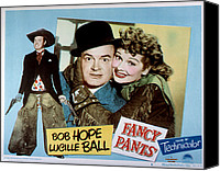 1950s Movies Canvas Prints - Fancy Pants, Bob Hope, Lucille Ball Canvas Print by Everett