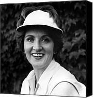 Flagg Canvas Prints - Fannie Flagg, Publicity Photo For Stay Canvas Print by Everett