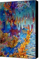 Underwater Canvas Prints - Fantasia Canvas Print by Samantha Lockwood