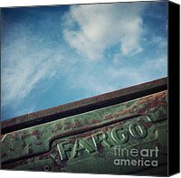 Truck Canvas Prints - Fargo Canvas Print by Priska Wettstein