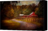 Gardener Canvas Prints - Farm - Barn - Rural Journeys  Canvas Print by Mike Savad
