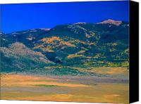 Sangre De Cristo Mountains Canvas Prints - Farm Rio Culebra Basin CO Canvas Print by Troy Montemayor
