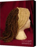 Wigs  Hats  Cancer Patients on Dreadlocks Wig Hat For Cancer Patients Canvas Print By Windy Mountain