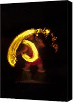 Dancer Canvas Prints - Feel the Heat Canvas Print by Mike  Dawson
