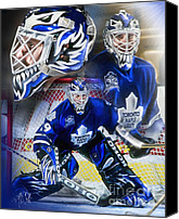 Toronto Maple Leafs Canvas Prints - Felix the Cat Canvas Print by Mike Oulton