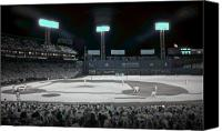 Ballpark Canvas Prints - Fenway Infrared Canvas Print by James Walsh