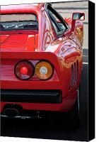 Ferrari Gto Canvas Prints - Ferrari GTO 288 Canvas Print by Jill Reger