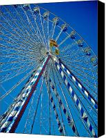 Bayern Canvas Prints - Ferris Wheel - Nuremberg  Canvas Print by Juergen Weiss