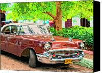 Havana Daydreams Canvas Prints - Fifty Seven Canvas Print by Dominic Piperata