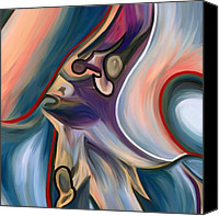 Corel Painter Canvas Prints - Final Act II Canvas Print by Amarok A