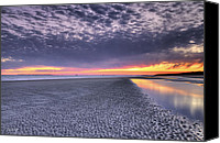 Tide Canvas Prints - Final Shot of the Night Canvas Print by Phill  Doherty