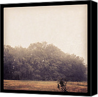 Rain Canvas Prints - Finally Heavy Rain!!! Oh How Ive Canvas Print by Amber Flowers