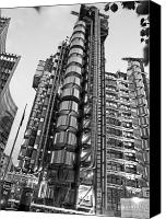 Strength Canvas Prints - Finance The Lloyds Building in the City Canvas Print by Chris Smith