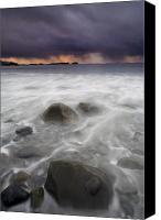 Storm Photo Canvas Prints - Fingers of the Storm Canvas Print by Mike  Dawson