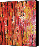 Burning Tree Canvas Prints - Fire - 1 Canvas Print by Jacqueline Athmann