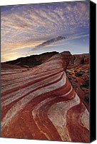Desert Southwest Canvas Prints - Fire Wave Canvas Print by Joseph Rossbach