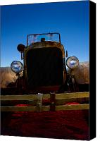 Antique Automobiles Canvas Prints - Fired Up 3 Canvas Print by Wayne Stadler