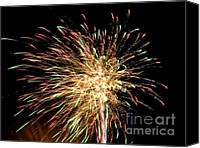 4th July Canvas Prints - Firework Canvas Print by Meandering Photography