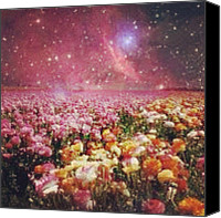 Teg Canvas Prints - First Attempt At This Galaxy Thing Canvas Print by Casi Wonderland